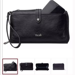 The Sak 3 in 1 wallet, crossbody and phone case